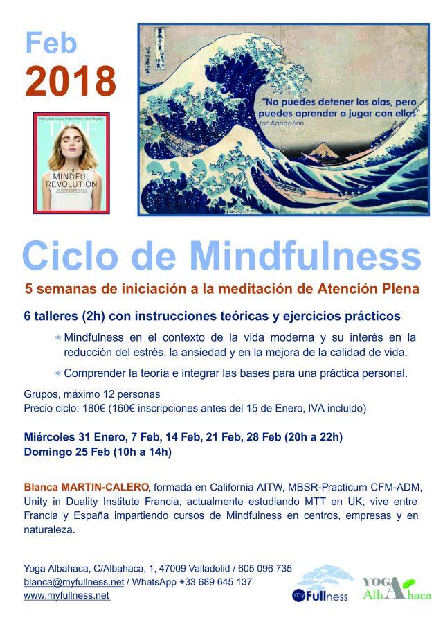 Mindfulness, Blanca 2018