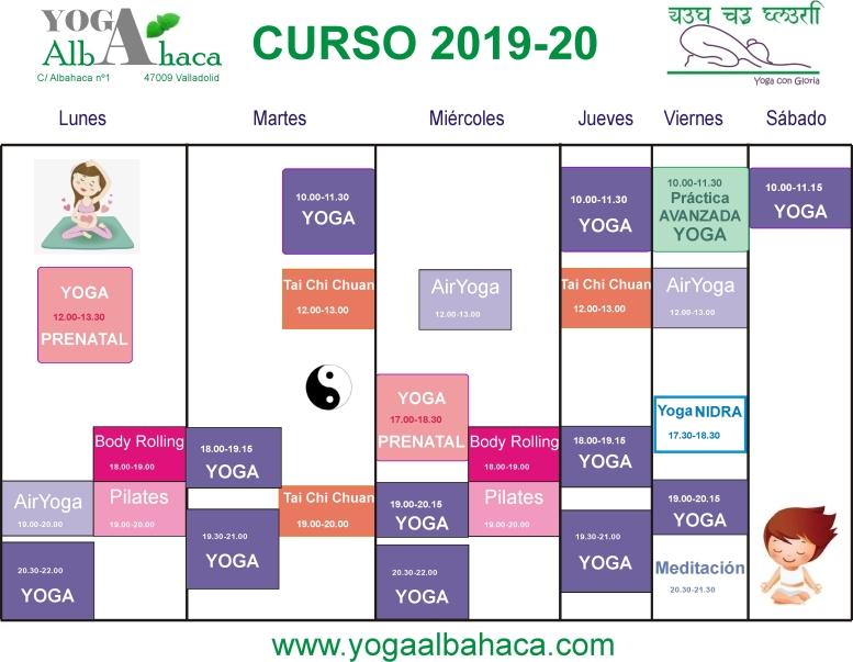HORARIOS 2019-2020